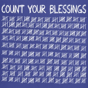 Count Your Blessings (dark) Tanks - Adjustable Apron