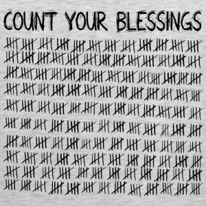 Count Your Blessings Kids' Shirts - Men's Premium Tank