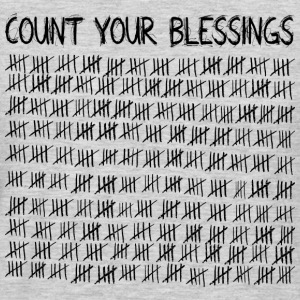 Count Your Blessings T-Shirts - Men's Premium Long Sleeve T-Shirt