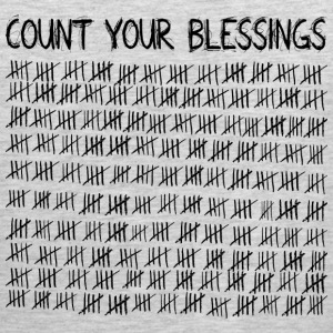 Count Your Blessings T-Shirts - Men's Premium Tank