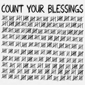 Count Your Blessings Mugs & Drinkware - Men's T-Shirt