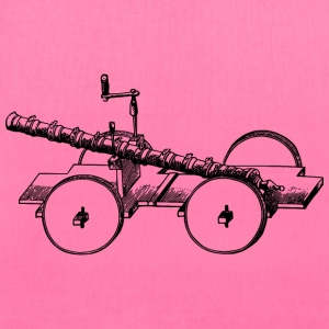 Old Chinese cannon - Tote Bag