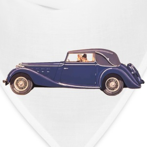 Ladies Driving Vintage Car - Bandana