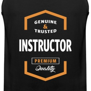 Instructor Logo Tees - Men's Premium Tank