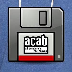 acab computers T-Shirts - Unisex Lightweight Terry Hoodie