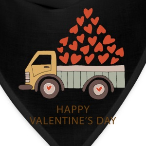Truckload of Love - Happy Valentine's Day - Bandana