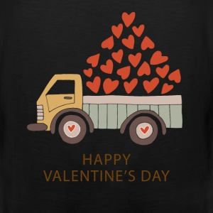 Truckload of Love - Happy Valentine's Day - Men's Premium Tank