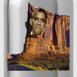 Obama On Image on a Mountain - Water Bottle