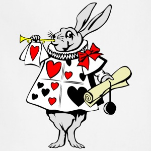 Rabbit from Alice in Wonderland - Adjustable Apron