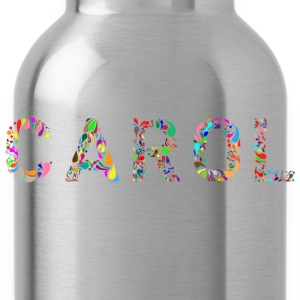 Carol Typography - Water Bottle