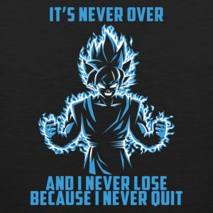 super saiyan goku - it's never over - Men's Premium Tank
