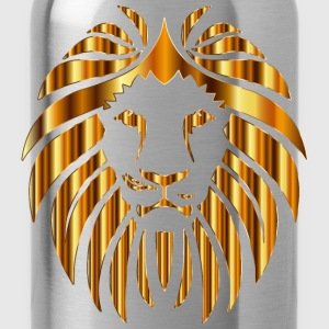 Golden Lion 10 No Background - Water Bottle