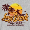 Long Beach T-Shirts - Men's V-Neck T-Shirt by Canvas