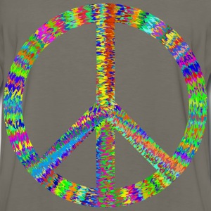 Groovy Peace Sign - Men's Premium Long Sleeve T-Shirt