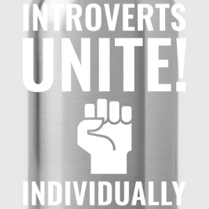 Introverts Unite - Water Bottle