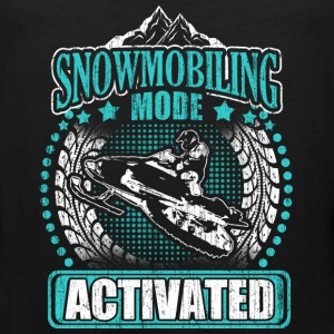 Snowmobiling mode - Activated - Men's Premium Tank