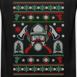 Ugly Christmas Sweater for Firefighter - Men's Premium Tank
