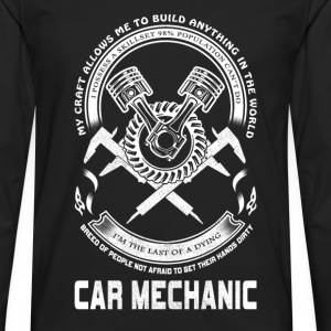 Car mechanic - I'm the last of a dying - Men's Premium Long Sleeve T-Shirt