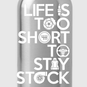 Racing - Life is too short to stay stock - Water Bottle