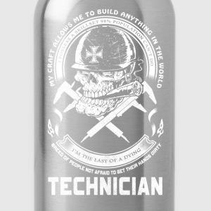 Technician - I'm the last of a dying - Water Bottle