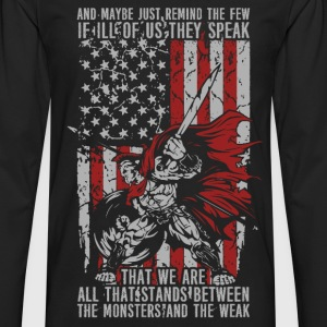 Spartacus - Maybe just remind the few... - Men's Premium Long Sleeve T-Shirt