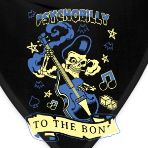 Psychobilly to the bone T - shirt - Bandana
