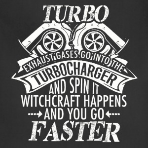 Racer - Turbo Witchcraft happens and you go faster - Adjustable Apron