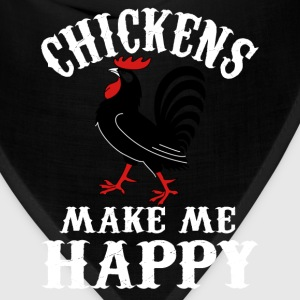 Chicken lover - Chickens make me happy - Bandana