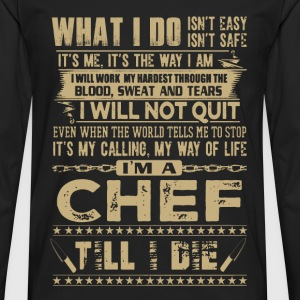 Chef - It's my calling, my way of life - Men's Premium Long Sleeve T-Shirt