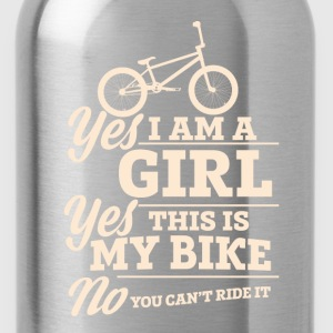 Bicycle - Yes this is my bike and you can't ride - Water Bottle