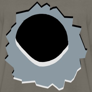 Hole weapon shot T-Shirts - Men's Premium Long Sleeve T-Shirt
