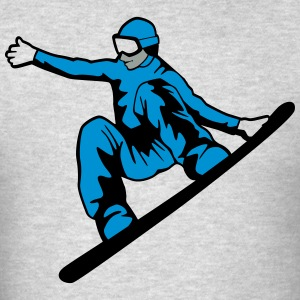 Snowboarder Hoodies - Men's T-Shirt