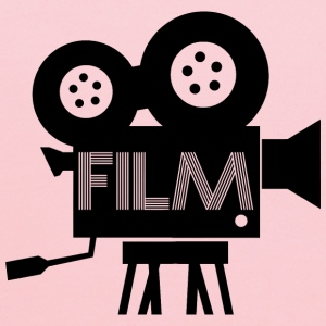 Old Fashioned Film Camera Icon - Kids' Hoodie
