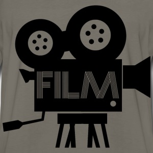 Old Fashioned Film Camera Icon - Men's Premium Long Sleeve T-Shirt