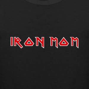 Iron Mom logo T-Shirts - Men's Premium Tank