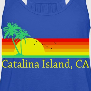 Catalina Island T-Shirts - Women's Flowy Tank Top by Bella