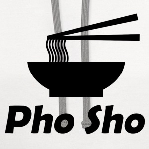 pho sho 112.png T-Shirts - Contrast Hoodie