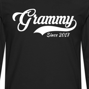 Grammy Since 2017 T-Shirt T-Shirts - Men's Premium Long Sleeve T-Shirt