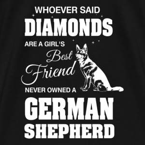 Never Owned A German Shepherd - Men's Premium T-Shirt