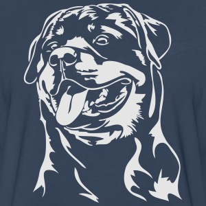 Rottweiler dog - Men's Premium Long Sleeve T-Shirt