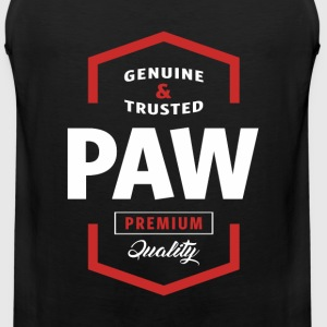 Genuine Paw Tshirt - Men's Premium Tank