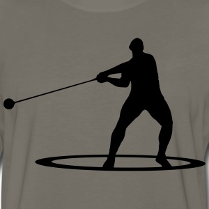 Hammer throw T-Shirts - Men's Premium Long Sleeve T-Shirt