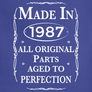 made in 1987 birthday Long Sleeve Shirts - Adjustable Apron