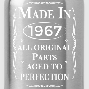 made in 1967 birthday T-Shirts - Water Bottle