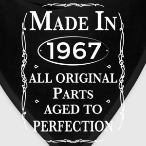 made in 1967 birthday T-Shirts - Bandana
