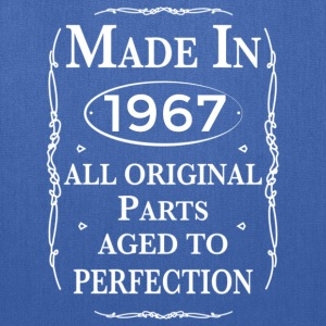 made in 1967 birthday Hoodies - Tote Bag
