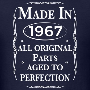 made in 1967 birthday Hoodies - Men's T-Shirt