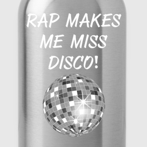 Rap Makes Me Miss Disco Ball Groovy Music T-Shirt T-Shirts - Water Bottle