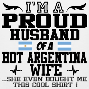 argentina wife 112.png T-Shirts - Men's Premium Tank