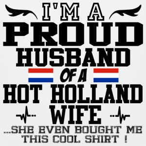 holland wife 112.png T-Shirts - Men's Premium Tank